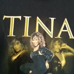 Tops - Retro Tina Turner Tee